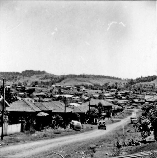 Vista parcial da cidade de Francisco Beltrão (PR) - 1966