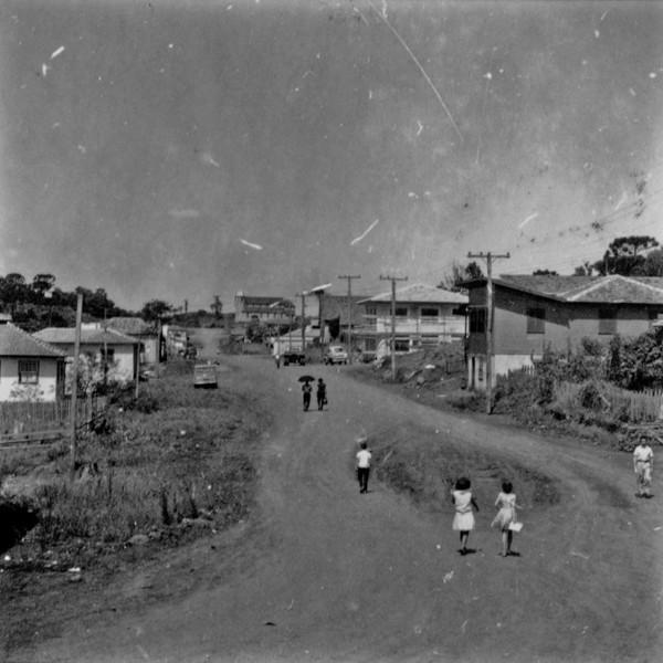 Vista da cidade de Chopinzinho (PR) - 1966