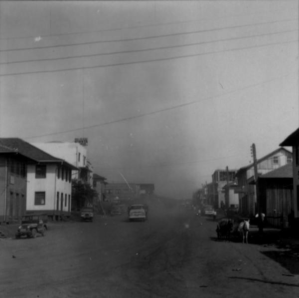 Rua comercial de Francisco Beltrão (PR) - 1966