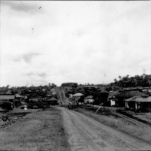 Vista da cidade de Matelândia (PR) - s.d.