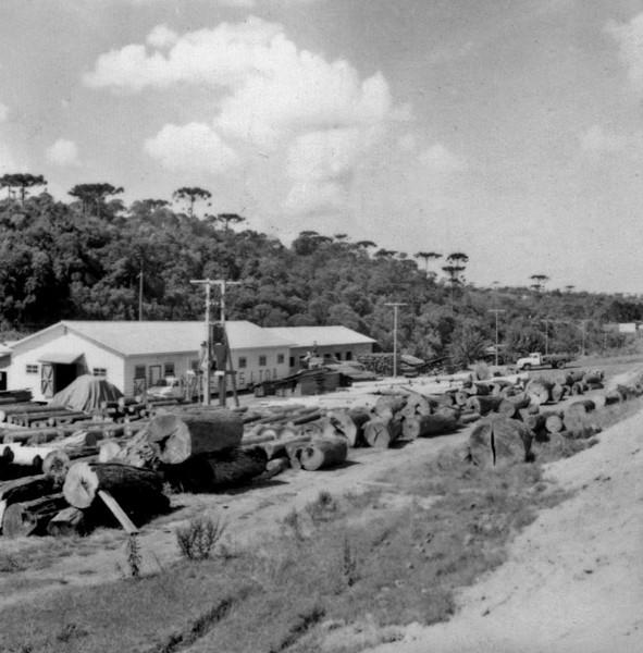 Serraria depois da cidade de Rio Negro (PR) - 1965