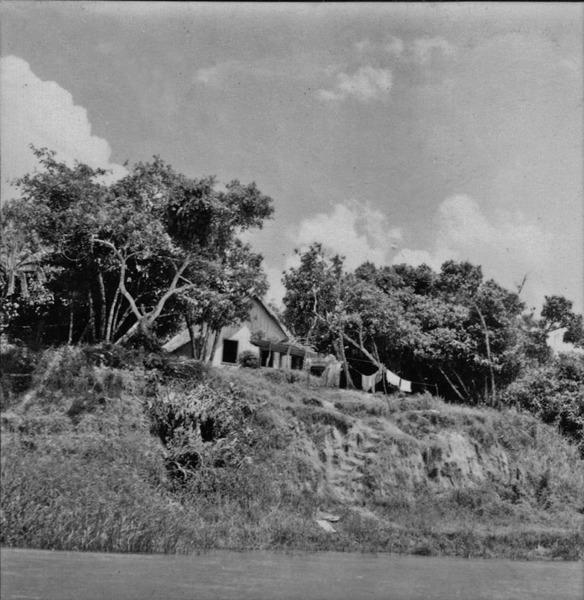 Casa de cabloco em Porto Vitória (PR) - 1965