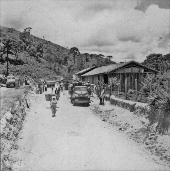Feira em 'Barracão' : Nova Friburgo (RJ) - 1957