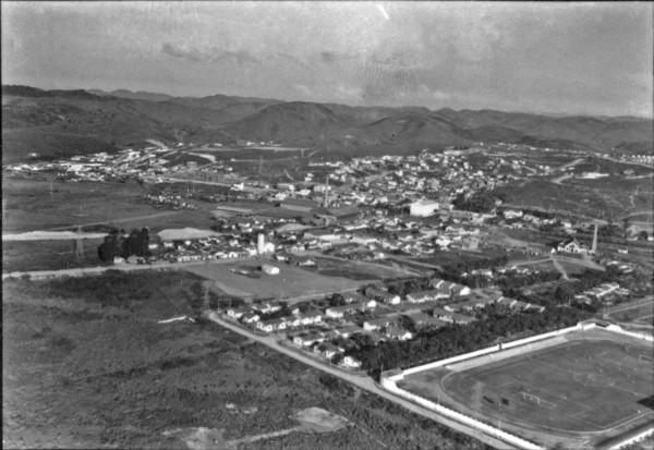 Vista geral da cidade de Volta Redonda (RJ) - s.d.