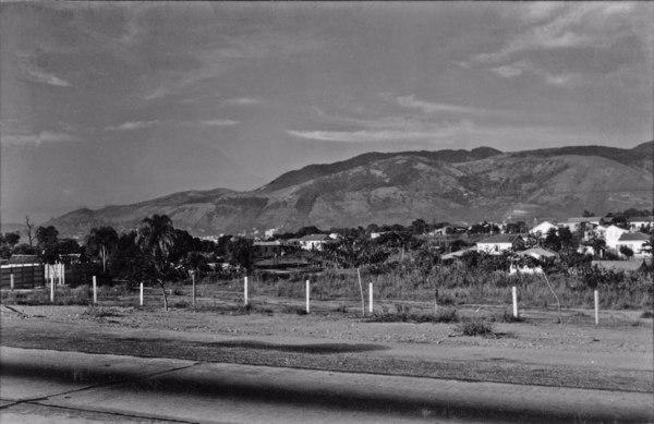 Vista panorâmica de Jericinó, próximo a Nova Iguaçu (RJ) - 1955