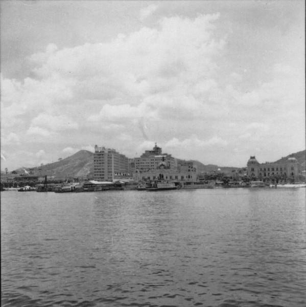 Vista do centro de Niterói, destacando-se a Av. Amaral Peixoto ao fundo (RJ) - 1957