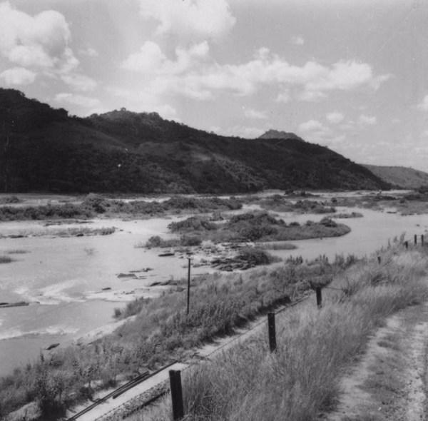 Vista do rio Paraíba, perto de Sapucaia (RJ) - s.d.