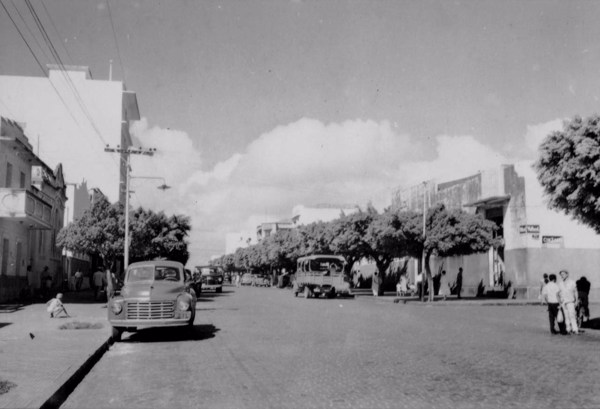 Avenida Rio Branco em Natal (RN) - 1957