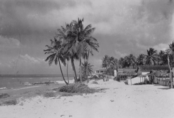 Praia do Povoado de Piranji do Norte em Parnamirim (RN) - 1957