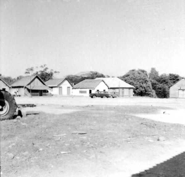 Aspecto da cidade de Ariquemes (RO) - 1968