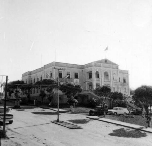 Palácio do govêrno do território de Rondônia, em Pôrto Velho (RO) - 1968