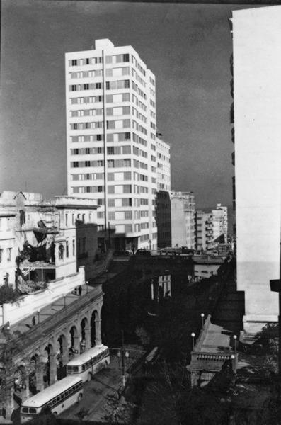 [Vista da Avenida Borges de Medeiros em Porto Alegre (RS)] - 1955