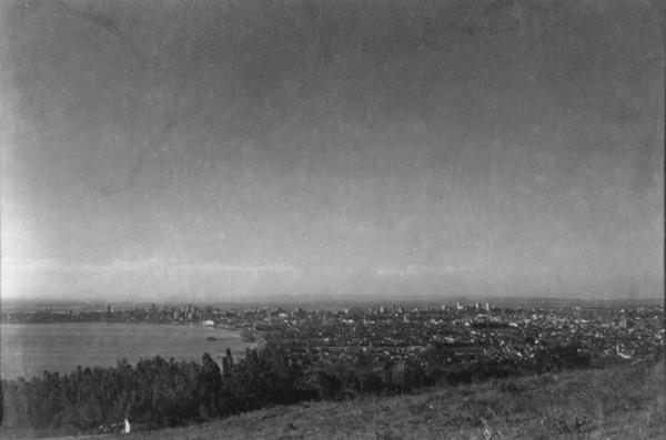 Vista geral da cidade de Porto Alegre (RS) - 1955