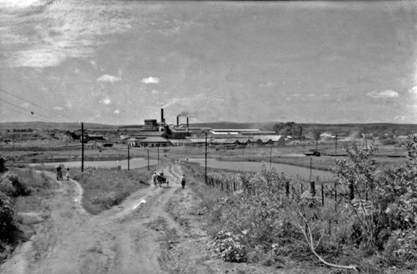 Companhia Estrada de Ferro e Minas em São Jerônimo (RS) - 1954