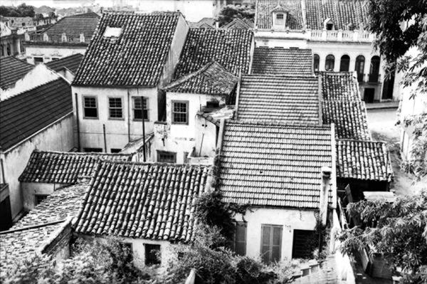 Casas antigas de Porto Alegre (RS) - 1955