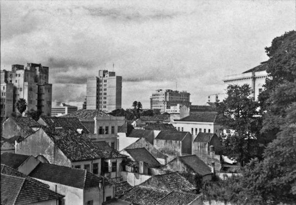 Vista parcial da cidade de Porto Alegre (RS) - 1955