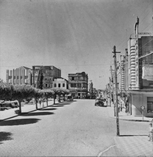 Praça General Daltro Filho em Vacaria (RS) - 1959