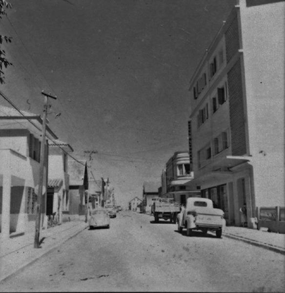 Rua Dr. Flores, no município de Vacaria (RS) - 1959