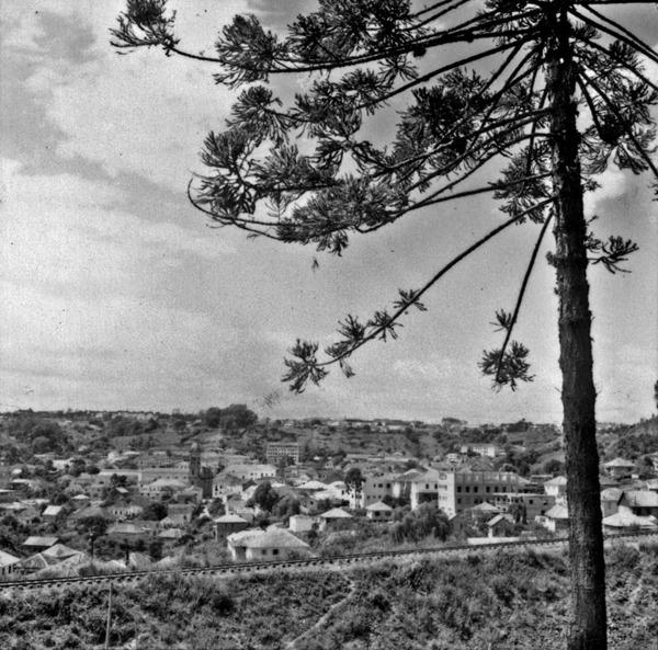 Centro da cidade de Bento Gonçalves (RS) - 1959