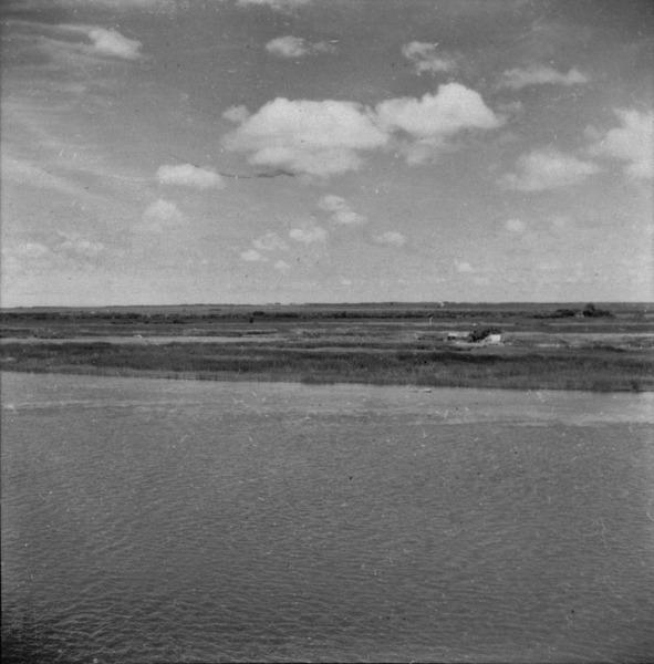 Vista do rio São Gonçalo e da planície : Rio Grande (RS) - 1959