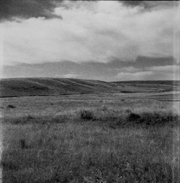 Relevo : fronteira perto de Livramento (RS) - 1959