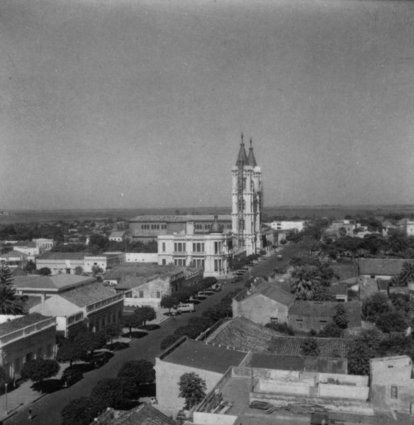 Vista parcial de Uruguaiana (RS) - 1959