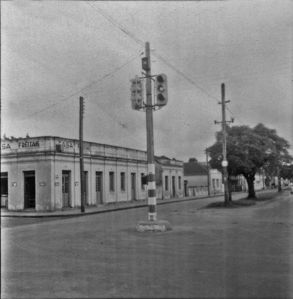 Sinaleiro no município de Cruz Alta (RS) - 1959