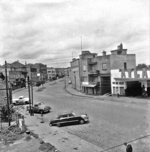 Avenida principal de Carazinho (RS) - 1959