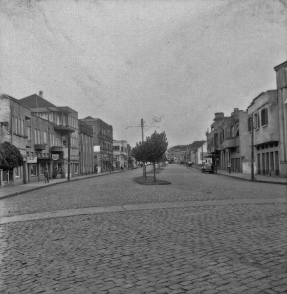 Vista da cidade de Carazinho (RS) - 1959