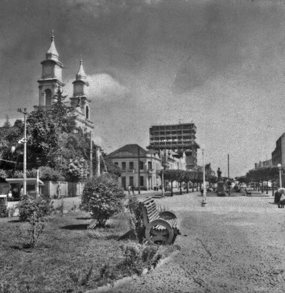 Avenidas principais de Erechim (RS) - 1959