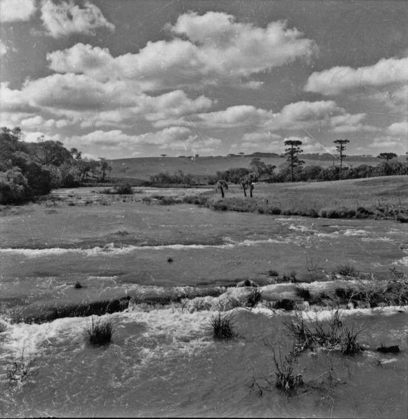 Rio São João: Ponte Serrada : município de Joaçaba (SC) - 1957