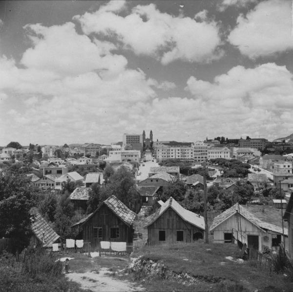 Panorâmica da cidade de Lages (SC) - 1959