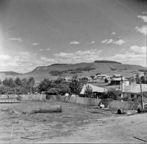 [Vista do relevo a sudoeste da cidade de Lages (SC)] - 1959