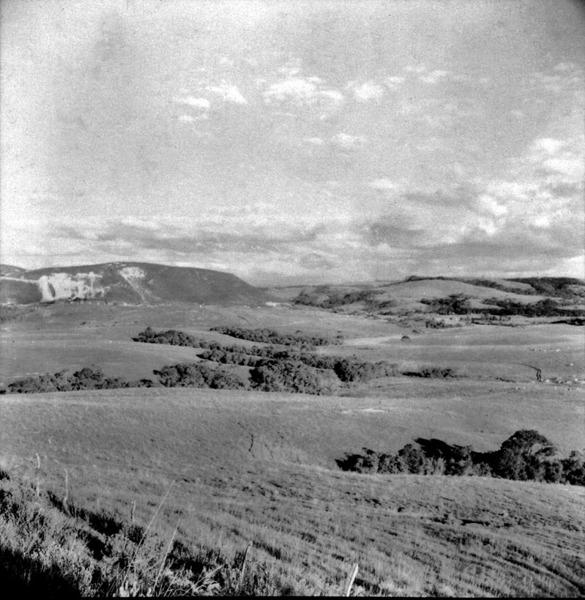 Vista dos campos na estrada de Lajes-Vacaria (SC) - 1959