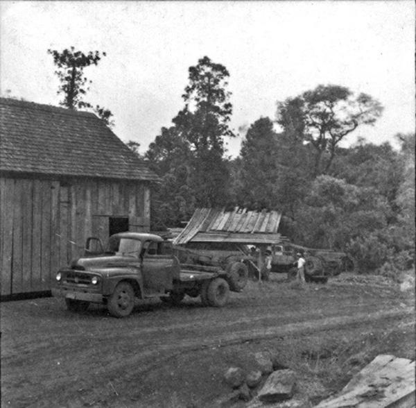 Frente Pioneira Irajá, no município de Maravilha (SC) - 1965