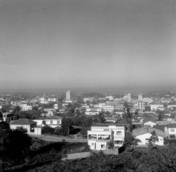 Vista da cidade de Criciúma (SC) - 1972