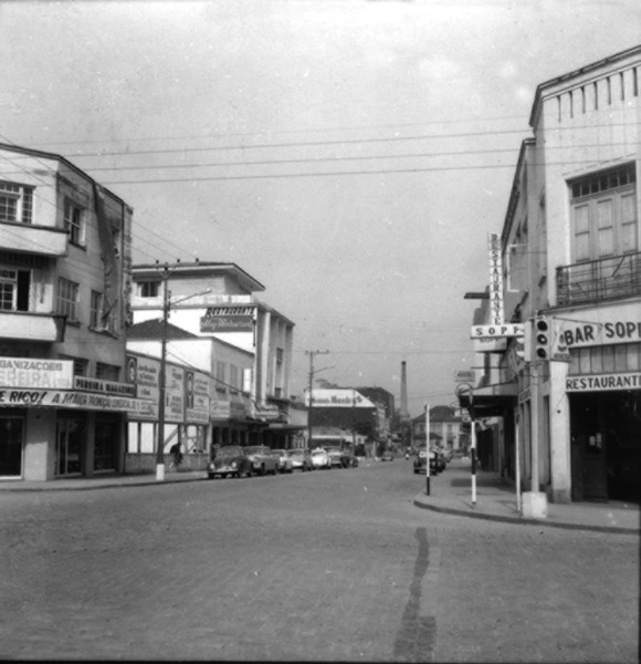 Vista parcial da cidade de Joinville (SC) - 1972
