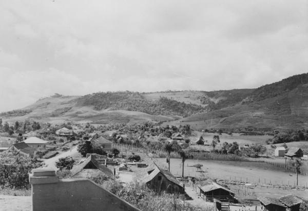 Vista da vila de José Boiteux (SC) - 1953