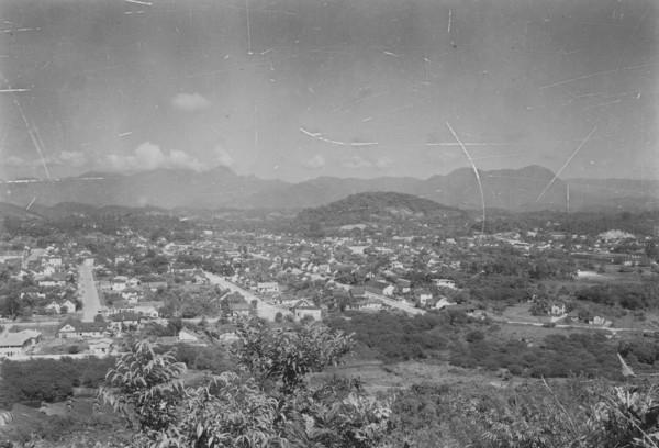 Vista geral da cidade de Joinville (SC) - 1953