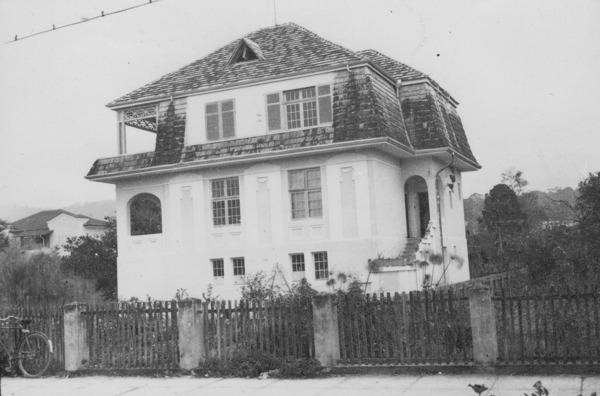 [Habitação na cidade de Blumenau (SC)] - 1955