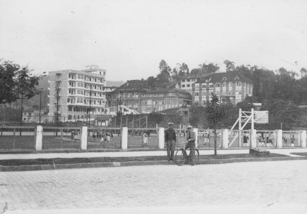 Aspecto da cidade de Blumenau (SC) - 1955