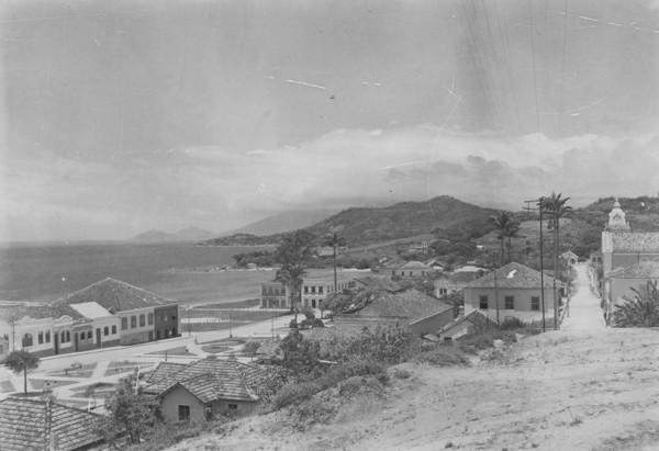 Vista da cidade de São José (SC) - 1953