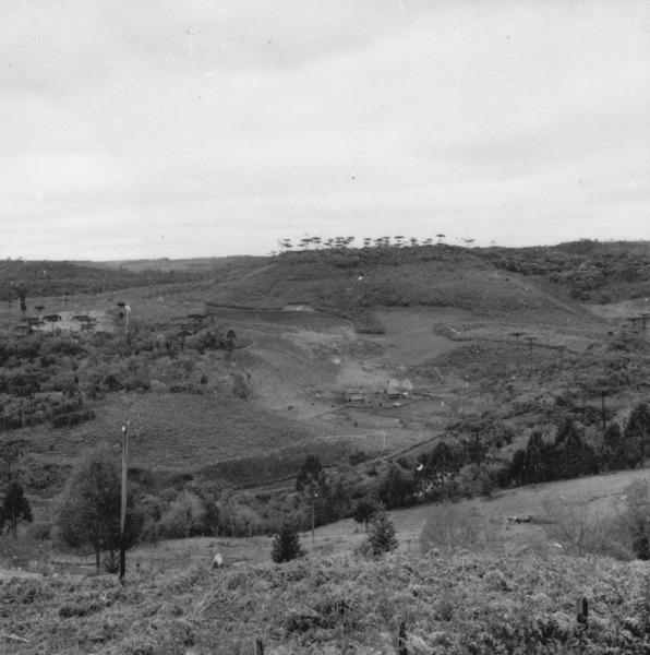 Uso da terra no vale do Rio do Peixe, no município de Caçador (SC) - 1957