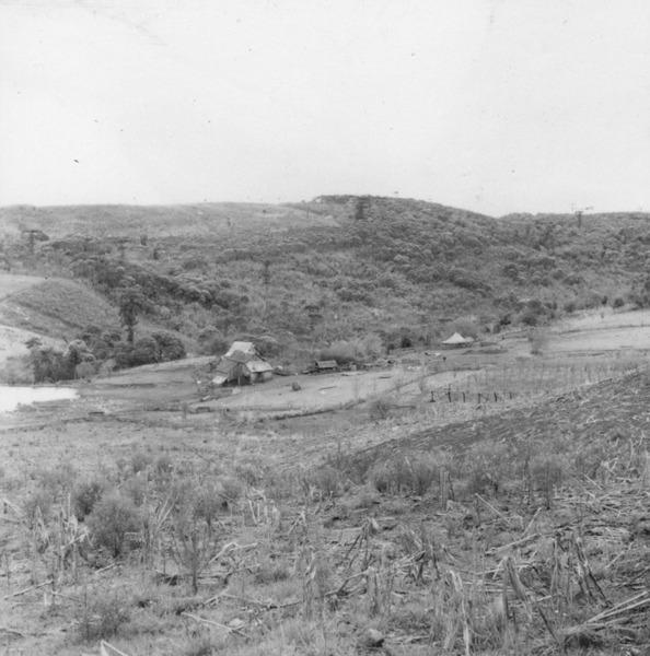 Ocupação no vale do Rio do Peixe (SC) - 1957