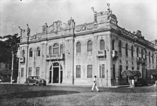 Palácio do Governo de Sergipe em Aracaju (SE) - 1952
