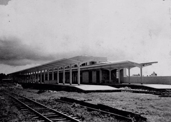 Estação da E.F. de Aracaju (SE) - s.d.