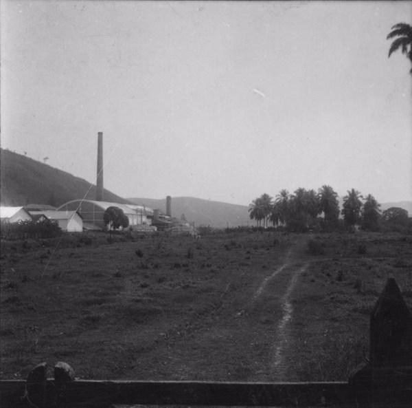 Usina São Pedro (açúcar) à margem do Paraíba (SP) - 1960