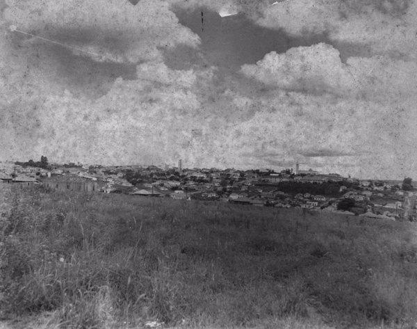 Vista da cidade de Presidente Prudente, do norte para o sul (SP) - s.d