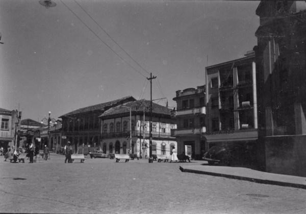 Aspecto da cidade de São Roque (SP) - 1955