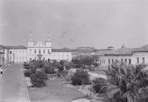 Aspecto da cidade de Itu (SP) - 1955